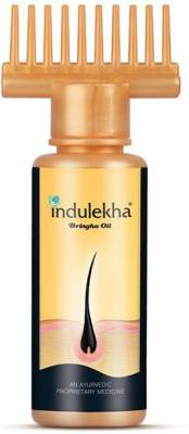 Indulekha Bringha Oil: Ayurvedic Solution for Healthy Scalp Skin and Hair Oil