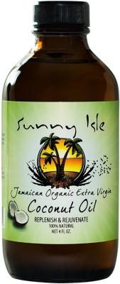Sunny Isle Jamaican Organic Extra Virgin Coconut Hair Oil(120 ml)