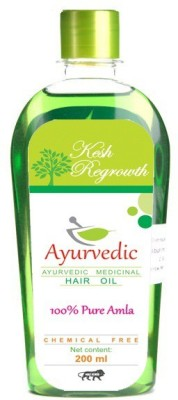 Kesh Regrowth Pure Amla Ayurvedic Medicinal  Hair Oil(200 ml)