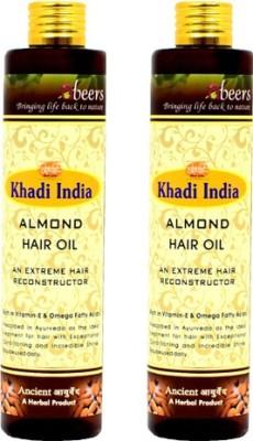 khadi abeers ALMOND OIL Hair Oil(225 ml)