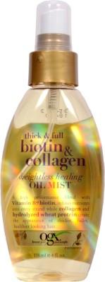 Organix Thick and Full Biotin - Collagen Weightless Healing Oil Mist Hair Oil(118 ml)