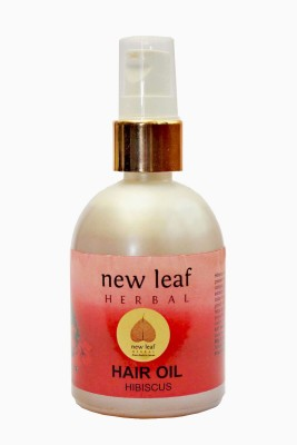 New Leaf Herbal Hibiscus Hair Oil(120 ml)  available at flipkart for Rs.201