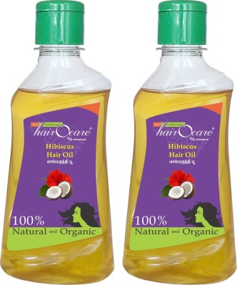 Hairocare Hibiscus - Conditioner - Pack of 2 x 200 ml Hair Oil(400 ml)  available at flipkart for Rs.225