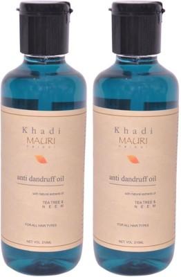 https://rukminim1.flixcart.com/image/400/400/hair-oil/x/x/j/khadi-mauri-420-anti-dandruff-hair-oil-pack-of-2-herbal-original-imaehgah3tzgabvd.jpeg?q=90