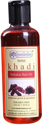 Khadi Herbal Shikakai Hair Oil, 210ml