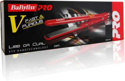 BaByliss 2072re Hair Straightener(Red)