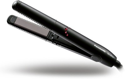 Panasonic 2 in 1 Straight and Curl EH-HV10-K62B Hair Straightener(Black and Red)