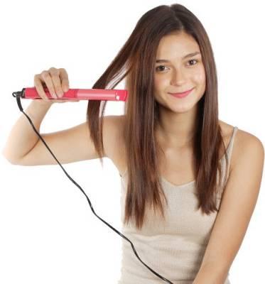 Nova 2 in 1 Hair Styler NHS 981 Hair Straightener (Pink)