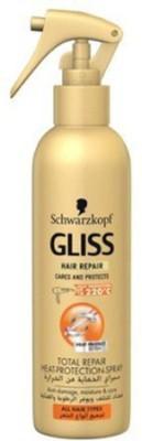 Schwarzkopf Gliss Total Repair Heat Protection Spray Hair Spray(200 ml)