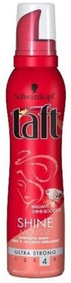 Schwarzkopf All Weather Taft Shine Lamination Effect Shine Mousse Ultra Strong 4 Hair Styler  available at flipkart for Rs.699
