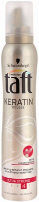 Schwarzkopf All Weather Taft With Liquid Keratin Mousse Ultra Stong 4 Hair Styler  available at flipkart for Rs.699