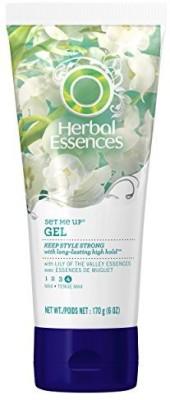 Herbal Essences Set Me Up Max Hold Hair Gel (Pack Of 3) Hair Styler