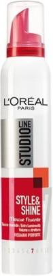 L'Oreal Paris Studio Line Fix & Shine 7 Mousse(200 ml)