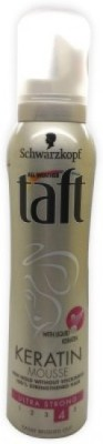 Schwarzkopf Taft Keratin Ultra Strong Mousse(150 ml)