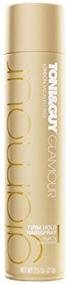 Toni & Guy Glamour Firm Hold Hairspray Hair Styler, 220ml
