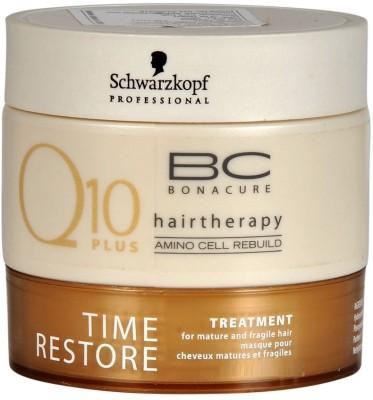 Schwarzkopf Bonacure Q 10 plus Time Restore(199 ml)  available at flipkart for Rs.1200