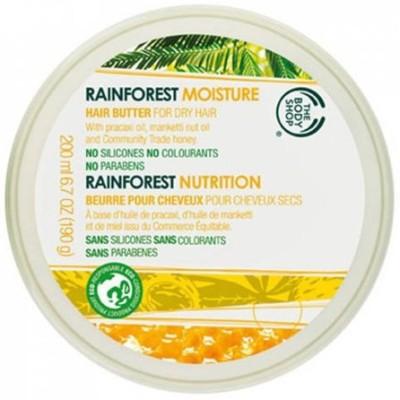 The Body Shop RAINFOREST MOISTURE HAIR BUTTER(200 ml)  available at flipkart for Rs.995