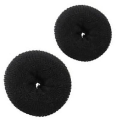 SENECIO™ Medium & Large Magic Donut Style Nylon Wire Stretchable Ring Bumpit HA0129 Extreme Hair Volumizer Bun Maker(2 g)  available at flipkart for Rs.175