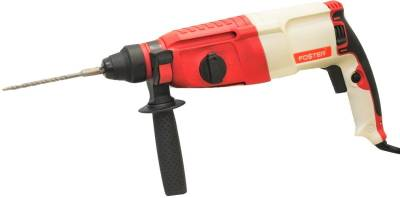 Foster-FHD-2-26-DRE-Rotary-Hammer-Drill-With-3-SDS-Bits,-2-Chisel-&-1-Depth-Gauge-Combo