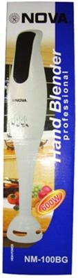 Nova NM 80 WB 200 W Hand Blender(White)