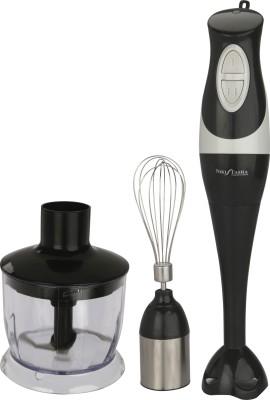 Nikitasha SRE 3033 300 W Hand Blender(Black, White)  available at flipkart for Rs.2100