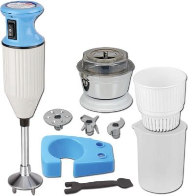 Desire Power 225 W Hand Blender(White, Blue) at flipkart
