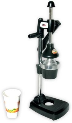 Silverline Aluminium Hand Juicer Kitchen Master(Black, Steel Pack of 4)