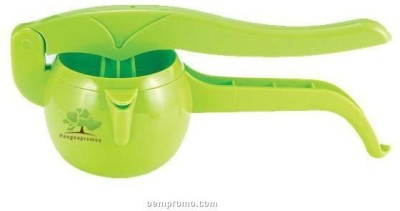Shopo Apple Shaped Vegetables Fruit Plastic Hand Juicer(Green) at flipkart