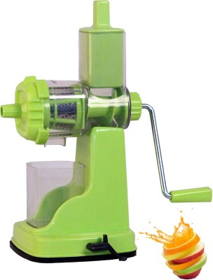 Mudra Kitchenware Plastic Hand Juicer(Green Pack of 1) at flipkart