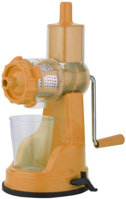 Capital Kitchenware Fruit & Vegetable Juicer Plastic, Stainless Steel Hand Juicer(Orange Pack of 1) at flipkart