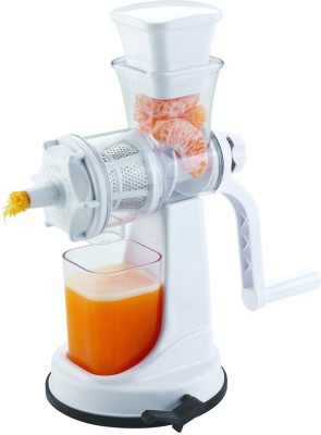 Mudra Products Fruit Juice Plastic Hand Juicer(White Pack of 1) at flipkart