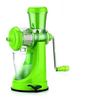 Shrih Fruits & Vegetable Plastic Hand Juicer(Green Pack of 1) at flipkart
