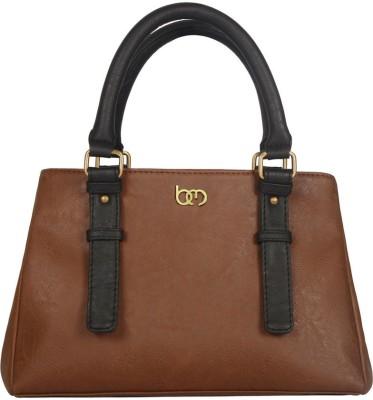 Bagsy Malone Hand-held Bag(Brown, Black)