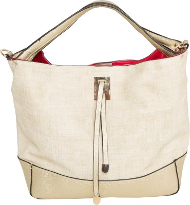 Elespry Women Beige Shoulder Bag at flipkart