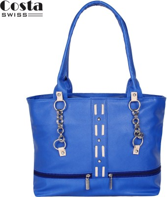 Costa Swiss Hand-held Bag(Blue)