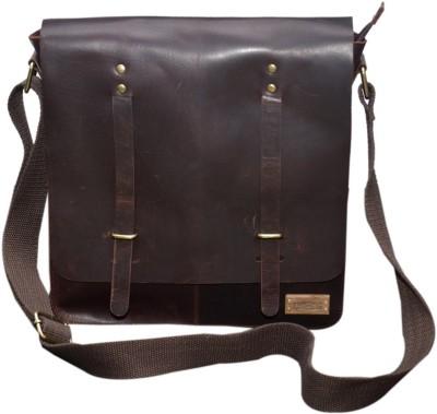 Le Craf Men Brown Messenger Bag Le Craf Messenger Bags
