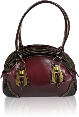 Jacy London Hand-held Bag(Maroon)