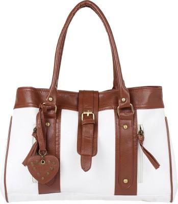 PamperVille Hand-held Bag(White)