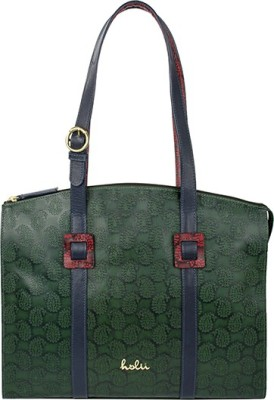 Holii Women Red, Green Tote at flipkart