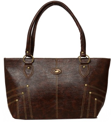 Belle Hand-held Bag(Brown)
