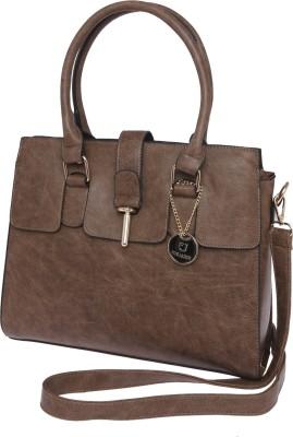 Fur Jaden Hand-held Bag(Brown)