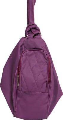Veins Hand-held Bag(Purple)