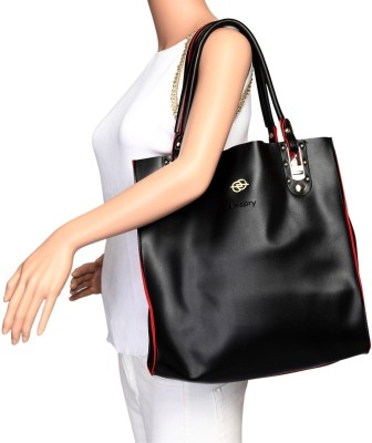 Elespry Women Black Shoulder Bag at flipkart