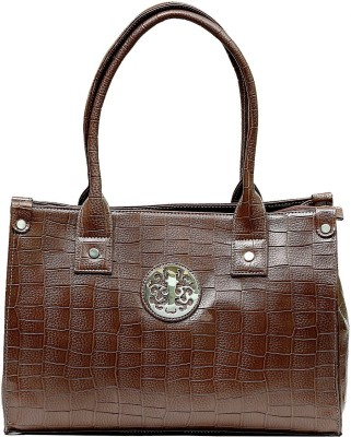 Optionsdesign Hand-held Bag(Brown)