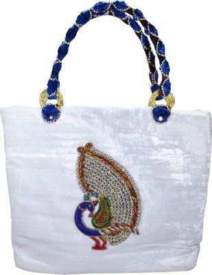 Arisha Kreation Co Hand-held Bag(White)