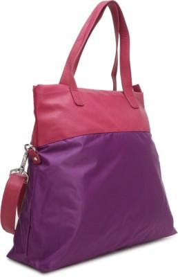 Baggit Shoulder Bag(Pink, Purple)