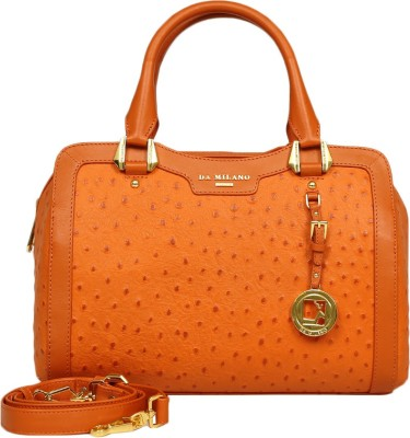 Da Milano Hand-held Bag(Orange)