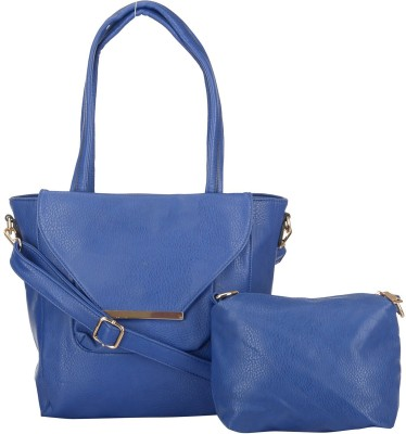 Ruby Hand-held Bag(Blue)