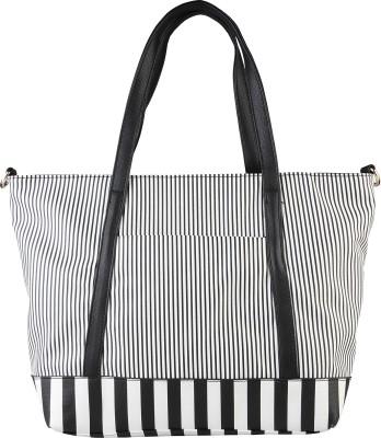 Pierre Cardin Women White, Black Shoulder Bag at flipkart