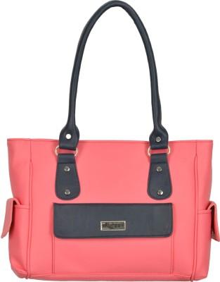 FANTOSY Women Pink, Grey Hand held Bag FANTOSY Handbags